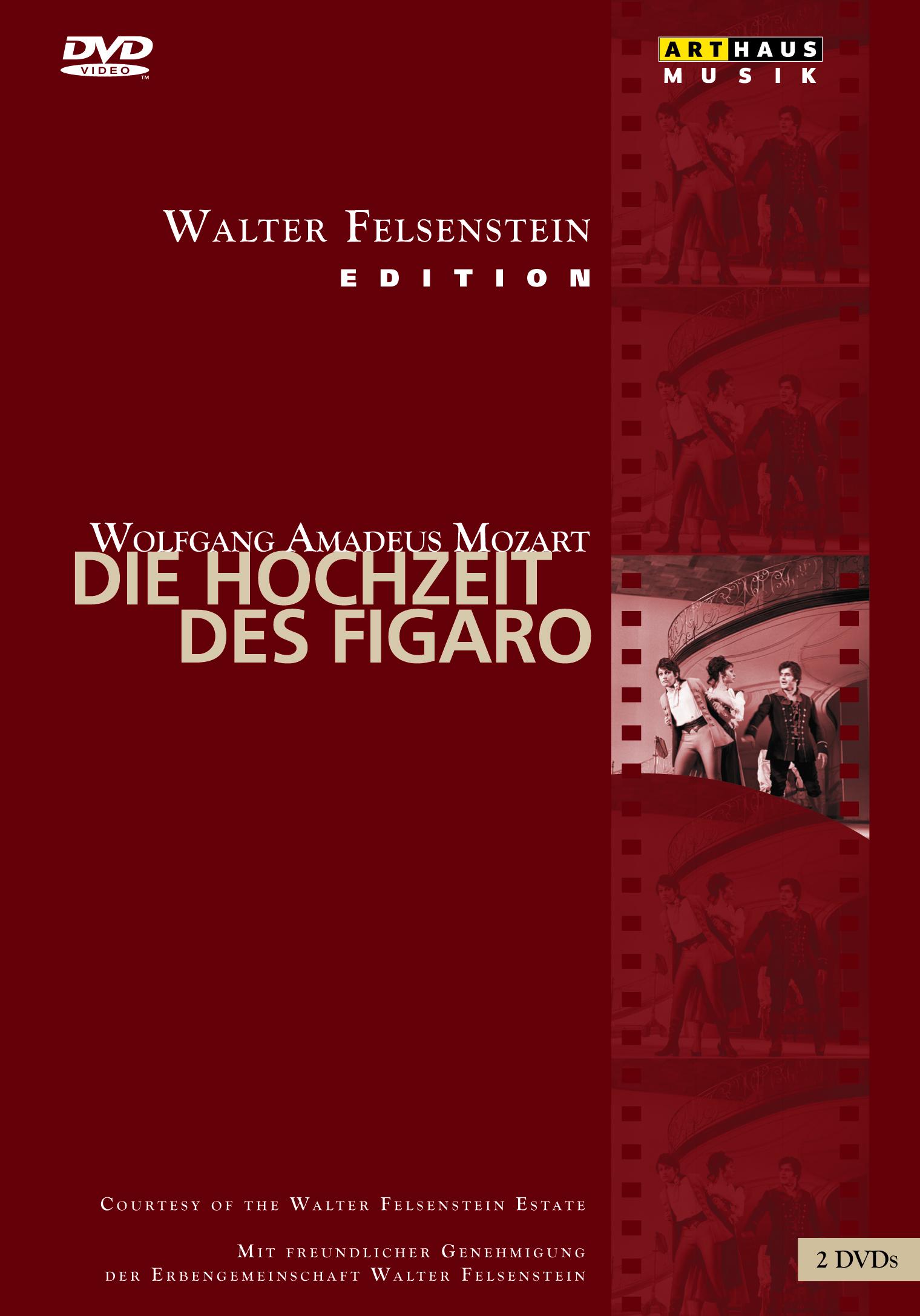 Wolfgang Amadeus Mozart Die Hochzeit Des Figaro Opera Dvd