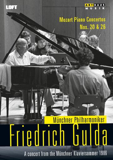 Wolfgang Amadeus Mozart Friedrich Gulda Mozart Piano Concertos Nos 20 26 Concert Dvd Arthaus Musik