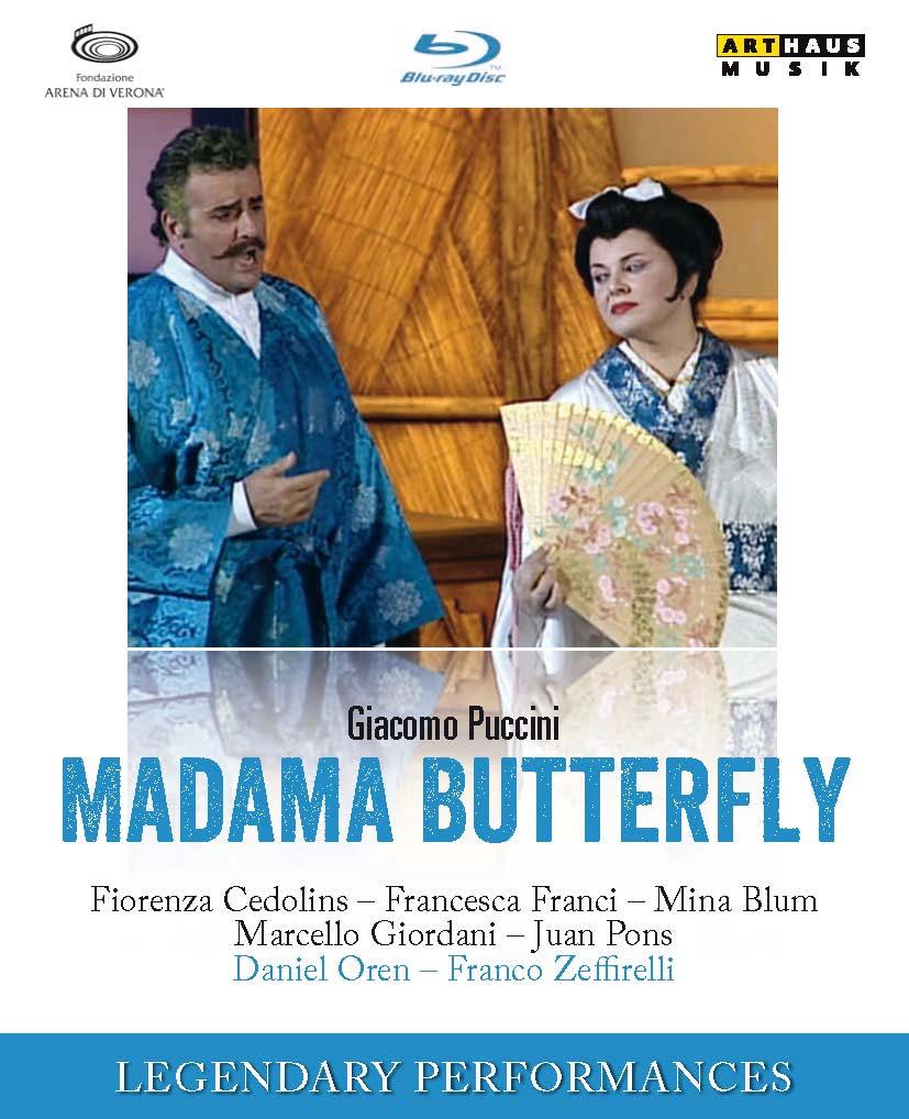 Giacomo Puccini : Madama Butterfly - Oper Blu-rays - Arthaus